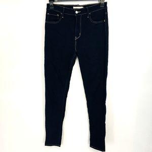 Levis Skinny Dark Wash Jeans